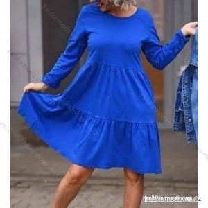 Šaty 3/4 rukáv dámské (uni s-l) ITALSKá MóDA IM120089