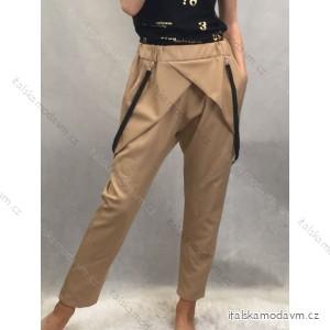 Kalhoty s kšandami dlouhé dámské (uni s-l) ITALSKá MóDA IMC20090