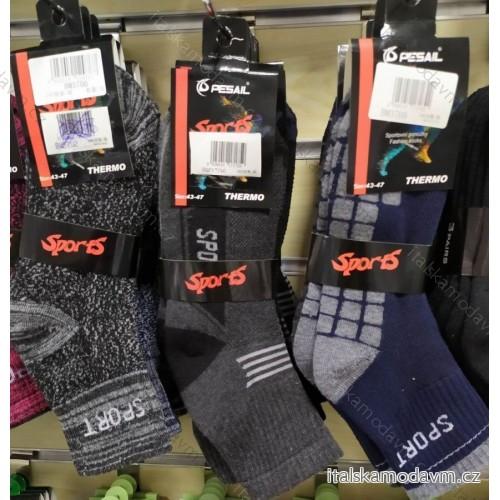 Ponožky teplé thermo pánské (40-47) PESAIL PES20BM3