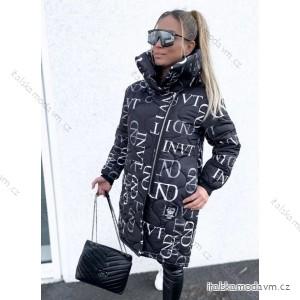 Bunda teplá zimní prodloužená dámská (S/M ONE SIZE) ITALSKÁ MÓDA IM4201466
